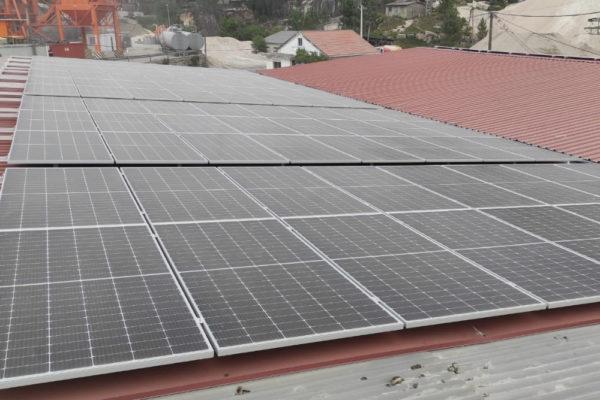 Instalación fotovoltaica para autoconsumo industrial en Atios